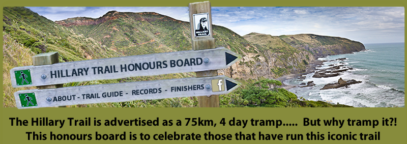 The Hillary Trail Honours Board
