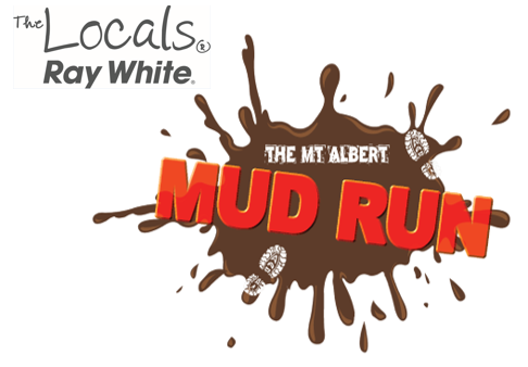 Mt Albert Mud Run Logo