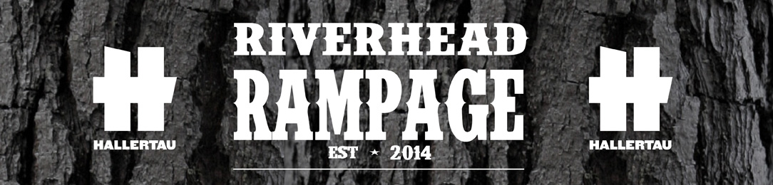 Riverhead Rampage Trail Run Logo