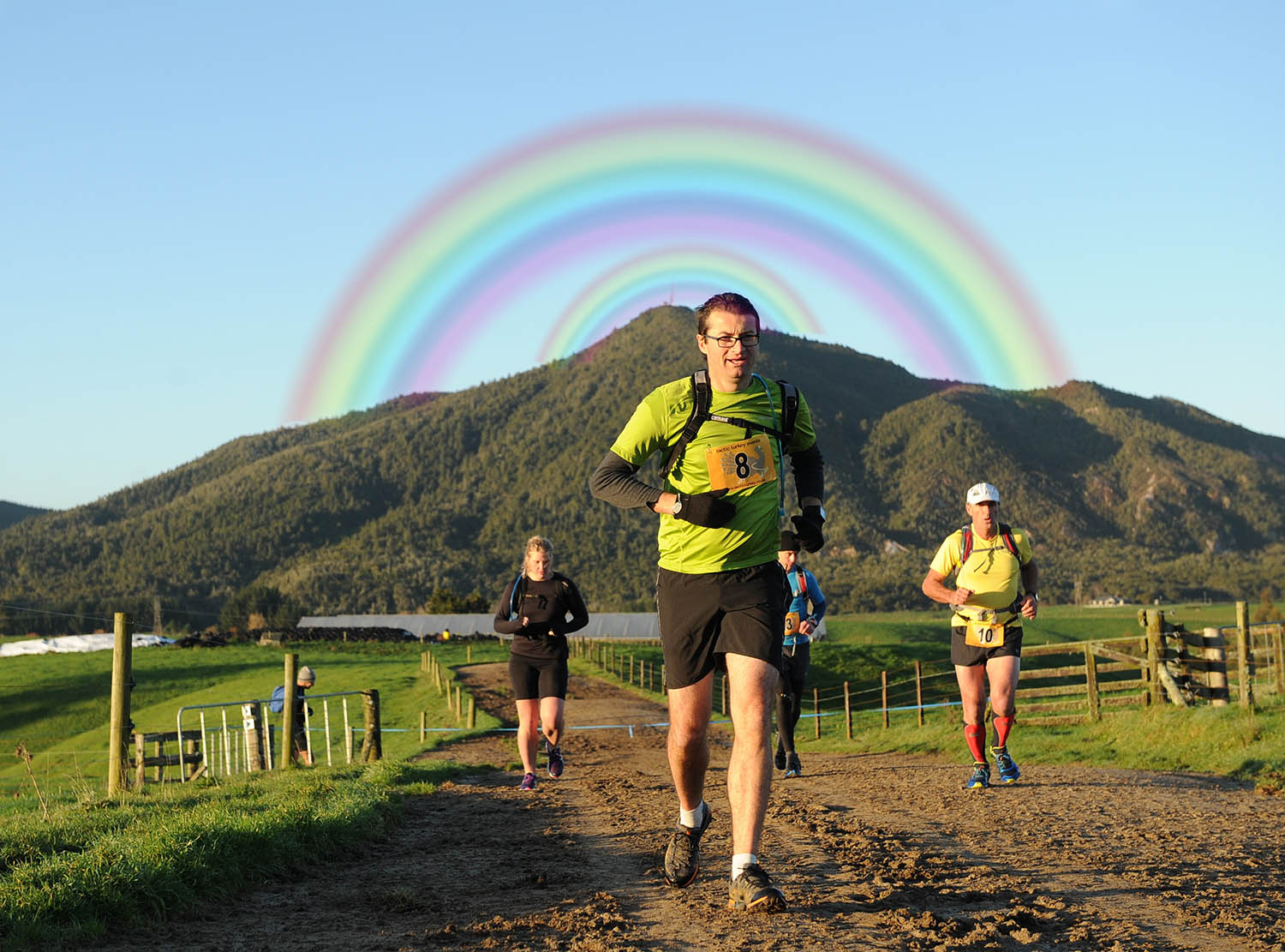 DOUBLE RAINBOW TRAIL RUN/WALK – 42/25/17/10km