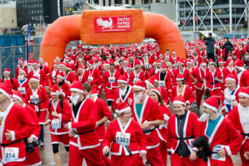 THE GRAEME DINGLE FOUNDATION GREAT NZ SANTA RUN/WALK